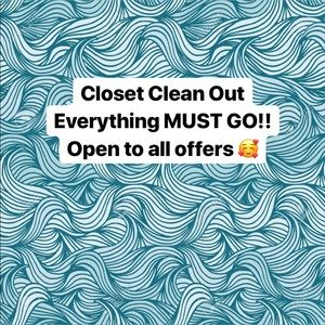 Peek at my closet! Many new items for cheap!!